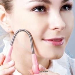 Rouler les cheveux en Ligne-Nouveau Printemps Roulé Épilation Du Visage Filetage Épilation Maquillage Outil Femmes Soins Du Visage Santé Beauté Épilateur