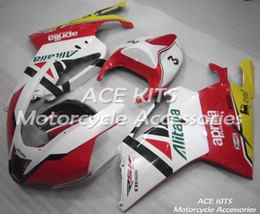 fairing rsv Coupons - ACE Motorcycle Fairings For Aprilia RSV 1000 2004 2005 Compression or Injection Bodywork A variety of color No.691