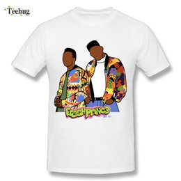 prince tees Coupons - Awesome Male The Fresh Prince Of Bel Air T Shirt Pure Cotton Nice Homme Tee Shirts