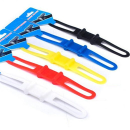 halter silikon fahrrad Rabatt Elastische Silikon-Bandage für Fahrrad-Licht-Berg-Halter-Zubehör-Telefon-Befestigungs-Bänder Plastik-Fahrrad-breite Bandagen 0 45. X