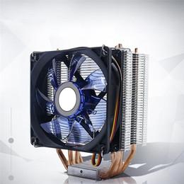 Ventilador súper silencioso de 9 cm Venta caliente PC Computadora CPU Ventilador de refrigeración Refrigerador combinado de cobre y aluminio de alta calidad Suministros de computadora desde fabricantes