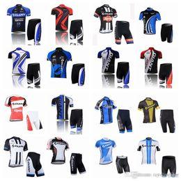 2019 camisetas de bicicleta gigante 2018 nuevo Hot Giant equipo de manga corta Bike Bike Jersey Bike / Bike BIB Shorts Jersey de los hombres A42405 camisetas de bicicleta gigante baratos