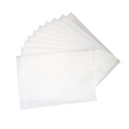100 adet / grup Boş Saydam parşömen zarflar DIY İşlevli Hediye kartı zarf Toptan nereden statik iphone tedarikçiler