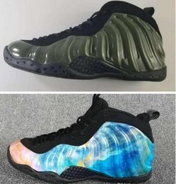 Wholesale Milky Blue - New Arrival 2018 Penny Hardaway Men's Basketball Shoes Cheaper High Quality Milky Way starry sky Green Athletic Shoes Sport Training Sneaker