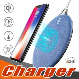 Wholesale Charging Pad For Android - X10 Fast Wireless Charger QI Wireless Charging Pad for iPhone X 8 Plus Android Charger Pad for Samsung Galaxy S8 Plus Note 8 With Package