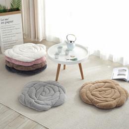 Diametro 45 cm / 55 cm - Cuscino imbottito per ufficio Cuscino Cuscino imbottito per materassino Tatami da