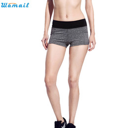 Wholesale Premium Pants - Womail Premium 5 Colors Women Yoga Shorts Gifts Women Girls Summer Elastic Outwork Sports Shorts Gym Yoga