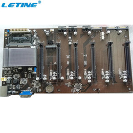 Wholesale Ddr3 32 - Motherboard For Mining China Supplier Customized Bitcoin Mining Motherboard , OEM 6 Pcie Slots Mining Motherboard with CPU D1800
