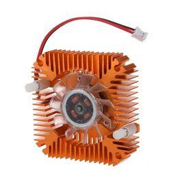 Vga dissipador de calor on-line-Freeshipping 5 * PC Laptop CPU Placa de Vídeo VGA 55mm Cooler Cooling Fan Heatsink