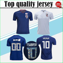 Wholesale Honda Jerseys - Large size jersey S-4XL 2018 world cup Japan Soccer Jersey 2018 Japan Home blue soccer Shirt #10 KAGAWA #9 OKAZAKI #4 HONDA football uniform