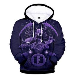 e0d70831396e plus size 3d sweatshirts Promo Codes - Hip Hop Fornite 3D Hoodie Sweatshirt  Boy Girl Casual