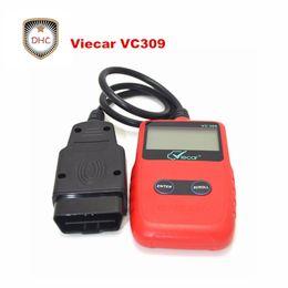 scanner de diagnostic de voiture obd2 eobd Promotion Outil de scanner diagnostique automatique Viecar VC309 OBD2 pour la voiture européenne asiatique Lecteur de code d'EOBD pour les protocoles diagnostiques de soutien de voiture 9