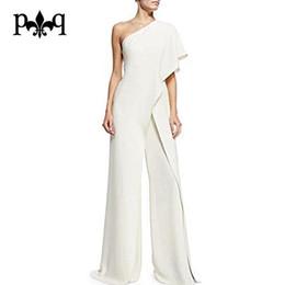 739f937ee30 black white elegant jumpsuit Australia - Wholesale-Hilove Women Summer  Jumpsuit 2017 New Fashion One
