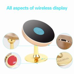 Wholesale Racks For Cars - Mini Wireless Charger USB car Charge Pad quick charge,Mobile phone rack ,bracket free shipping