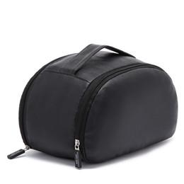 2019 набор для изготовления сумочек черный большой емкости искусственная кожа женская мода косметика сумка макияж случае мужская портативный стиральная сумка zip туалетные наборы сумка дешево набор для изготовления сумочек