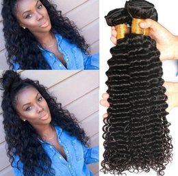 Wholesale Prices Deep Wave - Brazilian Human Hair Weave Grade 7A Bundle Deals,Brizilian Deep Wavy Hair,Longjia Hair Products Deep Wave Brazillian Hair Factory Price !