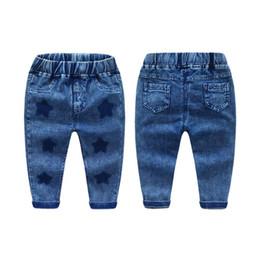 Дети в джинсах онлайн-Дети мальчики длинные брюки носить джинсы дети повседневная длинные брюки мальчиков одежда 2-6Y