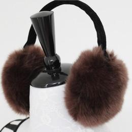 2019 schwarzes fauxpelzstirnband Solides Ohr muffs warme Damen Ohr Abdeckung für warme Männer für weiche Winter Niedlichkeit für Frauen versandkostenfrei