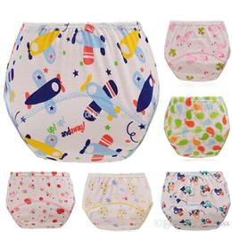 Wholesale Washable Pants - 2017 infant cartoon Diapers Cover Cloth cotton Breathable Reusable baby Diaper Covers pants kids Bread pants C1890