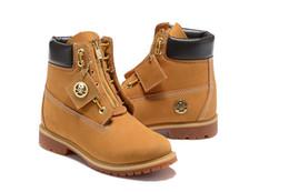 Canada 2018 nouvelle arrivée Bottes Ghost Head étiquette dorée jaune limité courses Chaussures de sport Baskets Travail occasionnel Randonnée Hiver Chaussures de taille 36 supplier boots label Offre
