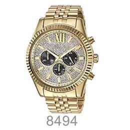 2018 Мода классический бизнес большой циферблат часы 8494 8515 + оригинальная коробка + Оптовая и розничная торговля + Бесплатная доставка от