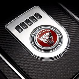 Ручка переключения передач кольцо крышка украшения стикер подходит для Jaguar F-Pace, XE, XJ 2013-up, XF 2016-up supplier ring fitter от Поставщики кольцевой слесарь