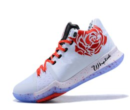 Wholesale Football Rooms - Sneaker Room x Kyrie 3 Basketball Shoes Mens Discout Cheap Sneakers Kyrie Irving 3 MM EP Outdoor Sports Shoes