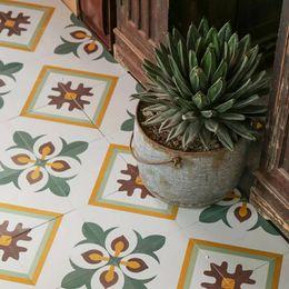 Wholesale Parquet Tiles Flooring - Southeast Asian style memories of the new handmade ceramic tiles handmade ceramic retro tiles 200 floor tiles parquet home versatile decorat