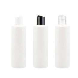 40pcs / lot 250ml blanc disque couvercle du disque couvercle lotion bouteille vide voyage bouteilles de parfum bouchon de disque shampooing PET bouteille rechargeable bouteille de gel douche ? partir de fabricateur