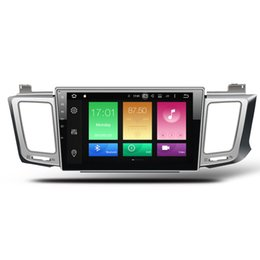 """Wholesale Toyota Gps Radio System - 10.1"""" Octa Core Android 8.0 System Car DVD Tape Recorder For Toyota RAV4 2012-2017 With 4G+32G RAM WIFI 4G Netowrk OBD DVR GPS Navi BT SWC"""