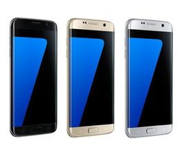 Wholesale New 4g Phones - Dummy phone New Goophone S7 edge 64bit Quad core show Fake 4G 3GB RAM 64GB ROM smartphone android 6.0 goophone s7 edge Metal frame DHL Free