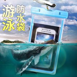 Canada Sac étanche transparent pour téléphone portable, sac étanche avec étui de téléphone sous-marin lumineux pour iphone Samsung HTC Offre