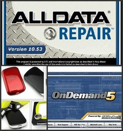 Wholesale Alldata Trucks - 77in1 Alldata 10.53+Mitchell OnDemand 2015 Q3+2017 Mitchell Ultramate+ATSG+Mitchell manager+Vivid+heavy Truck with 1TB hard disk Free ship