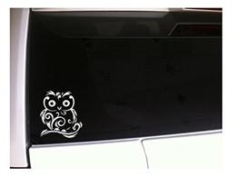 "Wholesale wall vinyl family love - Car Styling for Stary Eyed Owl 6"" Vinyl Sticker Decal I97 Owls Car Wall Laptop Family Love Decor Art Kids Hoot"
