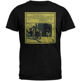 Camisa muerta online-Camisetas de la compañía Corto O-cuello de manga corta de los hombres Grateful Dead - Hombres Workingmans Dead T Shirts
