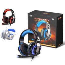 ONIKUMA G2000 Pro Xbox One PS4 PC Bilgisayar Oyunları Için Oyun Kulaklığı Kulaklık Mikrofon Ile Ücretsiz DHL nereden yüksek bas kulaklıklar tedarikçiler