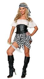Traje do pirata Adulto Mulheres Trajes de Carnaval de Halloween Fantasia Vestido Extravagante Piratas Do Caribe Traje cheap fancy dress pirate woman costume de Fornecedores de fantasia, vestido, pirata, mulher, traje