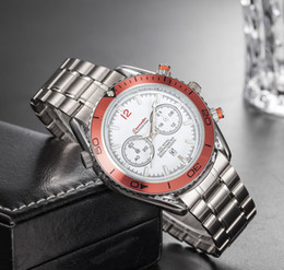 d5fb05567 Marca suíça mens relógios de boa qualidade em aço inoxidável moda relógio  impermeável Mar quartzo relógios de pulso designer mestre relógios baratos