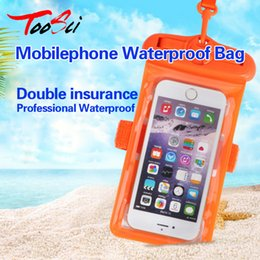 Wholesale Ipx8 Waterproof Case - 6.3 inch IPX8 Waterproof Phone Case For Xiaomi Huawei Universal Underwater Pouch Cover For iPhone X 7 8 plus 6 6s plus Samsung S9 S8 Plus S7