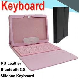 Custodia in pelle tastiera wireless Bluetooth T580 per Samsung T580 Retina Stand Protector protettiva foderato con tastiera EXPT-2 da