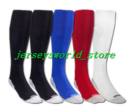 Wholesale Blue Stocking Club - CQ708* 1718 football team Men Long barrelled Soccer Socks adult thick soles anti slip Sports stocking football club home away football socks