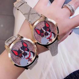 Wholesale G Dog - 2018 New G-Timeless Bosco Dog Wristwatch Nylon Dial Unisex Watch YA1264056