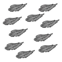 10 PCS Broderie Ailes Badges Patch Repassage Sur Et Patchs Patchwork Accessoires Patchwork Brodé Badge Applique Pour Jeans Veste ? partir de fabricateur