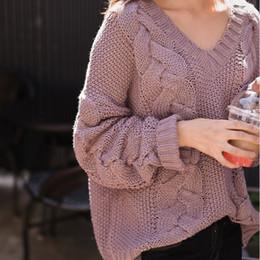 Distribuidores de descuento Caída Del Suéter Para Mujer  1347955f1b5b