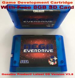 Игровой картридж EDMD для консоли SEGA GENESIS MegaDrive (MD) в США, Японии и Европе от