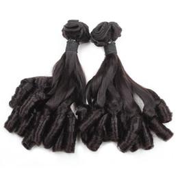Wholesale Spring Curls Human Hair - Funmi Hair 100A Bunchy Spring Curl Virgin Human Hair 4Bundles Weave Extensions 8-18inch Brazilian Peruvian Malaysian Indian Hair