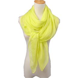 Écharpe en soie solide en été en Ligne-Été style châle long Pascual écharpes grande écharpe couleur unie pashmina mousseline de soie soie femmes élégantes foulard cape 150 * 110cm