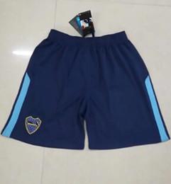 Wholesale Club Pants - 2018 Boca blue shorts 2017 18 Boca Junior 3rd Soccer shorts 17 18 Argentina Club Football Shirts Thai Quality home blue shorts pants