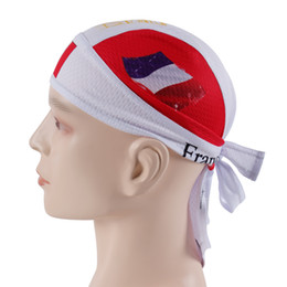 Wholesale French Scarves - French Men 2018 New High quality Pirate Hat riding outdoor sports pirate head scarf mountain road bike sports cap