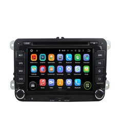 Wholesale Navi Radio - Car stereo player Android 8.0 8 Core 32G ROM Car DVD Player For Volkswagen Passat POLO GOLF Skoda Seat Leon With GPS Navi 4G LTE Network